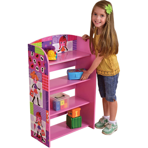 Fashion Girl 4 Tier Bookshelf - Simply Utopia