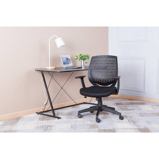 Malibu Lightweight Office Chair With Tension Padded Seat - Simply Utopia