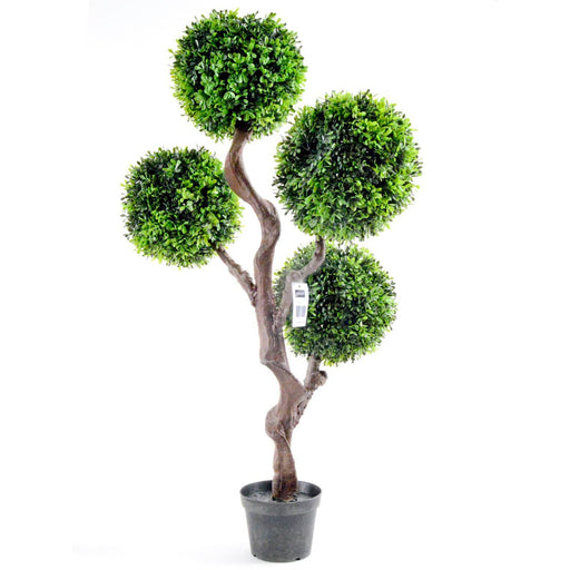 Artificial Large 90cm UV Boxwood Topiay Tree - Simply Utopia