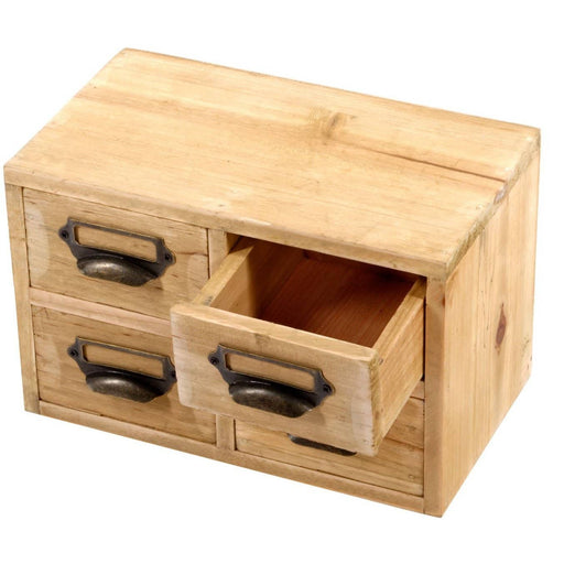 Storage Drawers (4 drawers) 25 x 15 x 16 cm - Simply Utopia