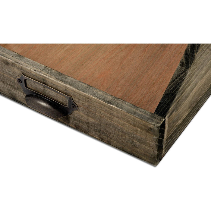 Wooden Paper Tray 25 x 34 x 10 cm - Simply Utopia