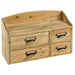Shabby Chic Small Wooden Cabinet 4 Drawers - Simply Utopia