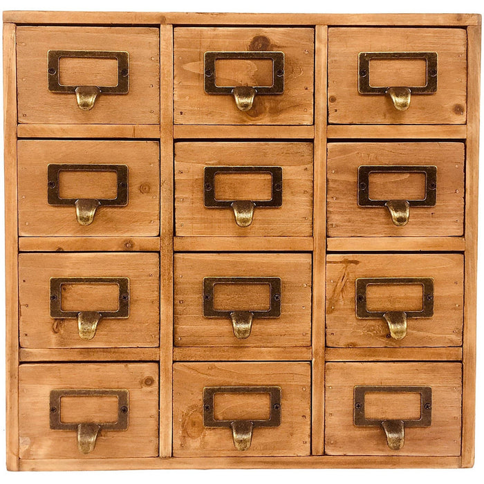 Storage Drawers (12 drawers) 35 x 15 x 34cm - Simply Utopia