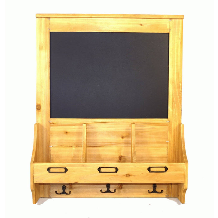 Chalkboard with hooks and Post Space 47 x 10 x 59cm - Simply Utopia