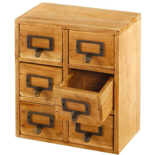 Storage Drawers (6 drawers) 23 x 15 x 27cm - Simply Utopia
