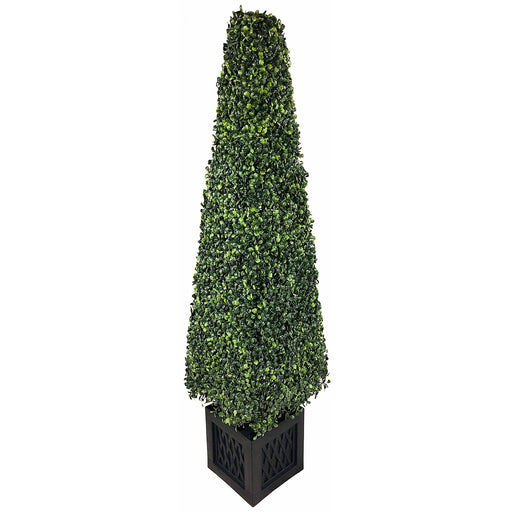 Artificial 120cm Boxwood Tower - Simply Utopia