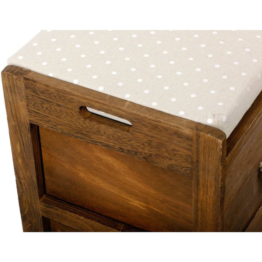 Revesby 4 Drawer Storage Bench 76 x 33 x 51 cm - Simply Utopia