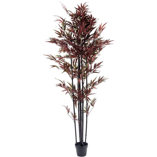 Bamboo Tree Red & Green 180cm - Simply Utopia