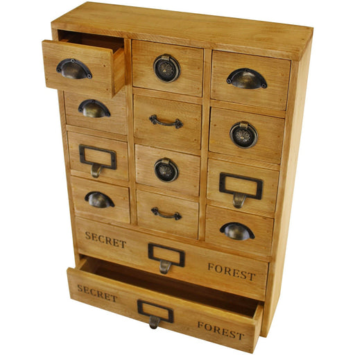14 Drawer Storage Unit, Trinket Drawers - Simply Utopia