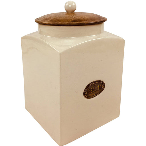 Ceramic Biscuit Jar - Simply Utopia