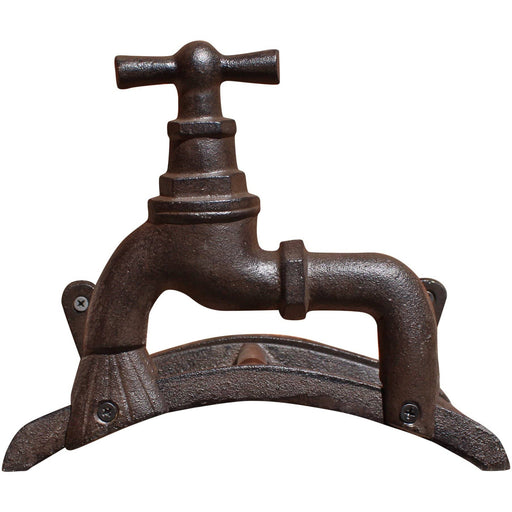 Rustic Cast Iron Wall Mounted Hosepipe Holder - Simply Utopia