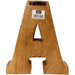 Hand Carved Wooden Embossed Letters Dad - Simply Utopia