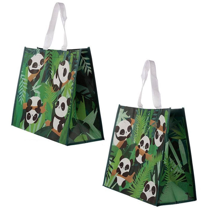 Cute Panda Durable Reusable Shopping Bag - Simply Utopia