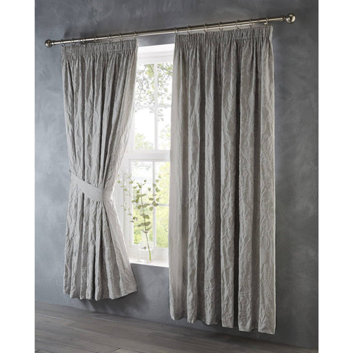 Oak Tree Pencil Pleat Curtains - Simply Utopia