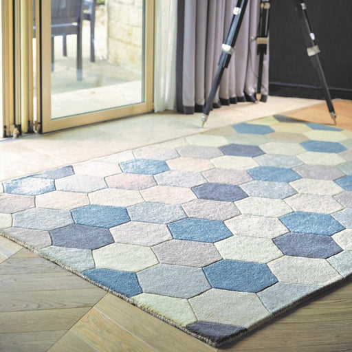 Farah/Hexagon Rug - Simply Utopia
