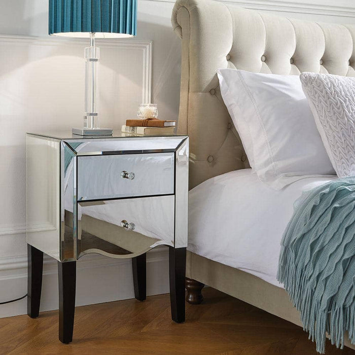 Palermo 2 Drawer Bedside - Simply Utopia