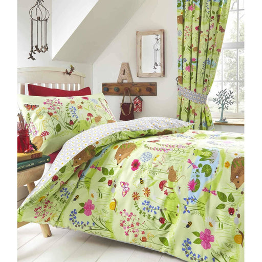 Bluebell Pencil Pleat Curtain - Simply Utopia