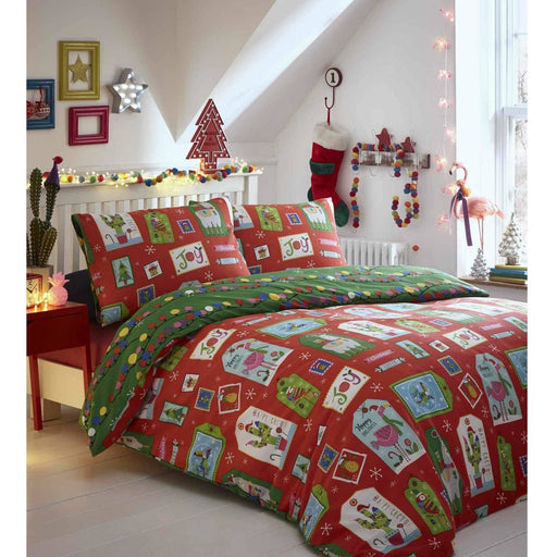 Curious Christmas Duvet Set - Simply Utopia