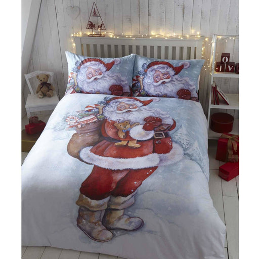 Father Christmas Duvet Set - Simply Utopia