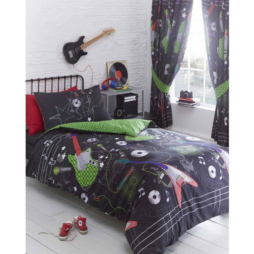Guitar Rock Duvet Set - Simply Utopia