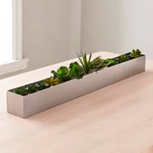 Long Centerpiece Table Plant Holder - Simply Utopia