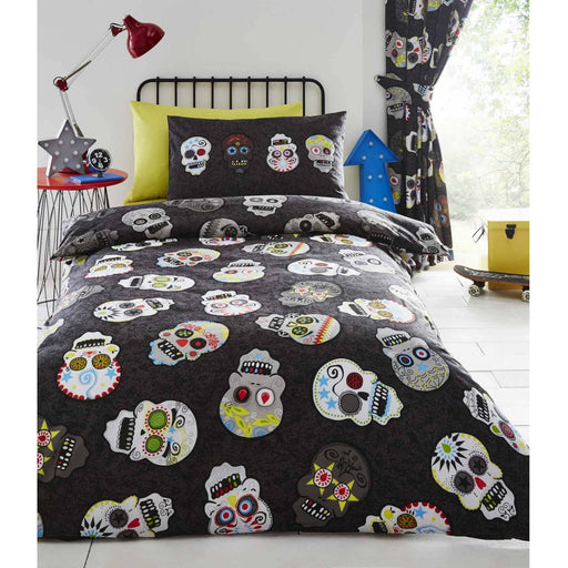 Sugar Skulls Duvet Set - Simply Utopia