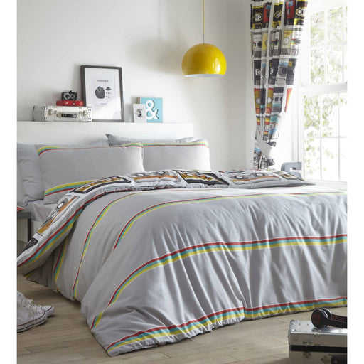 Retro Cassettes Duvet Set - Simply Utopia