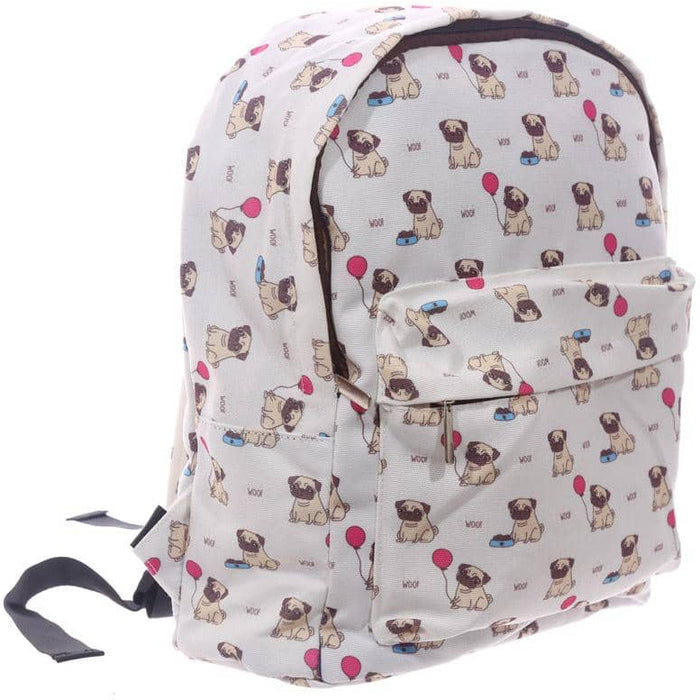 Handy Kids School and Everyday Rucksack - Pug Design - Simply Utopia