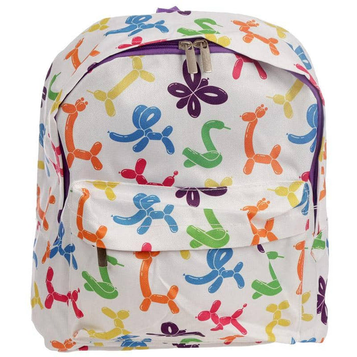 Handy Kids School & Everyday Rucksack - Balloon Animals Design - Simply Utopia