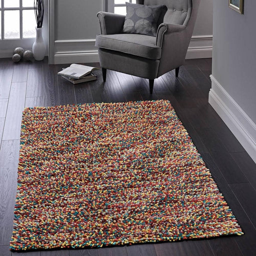 Rocks Shaggy Rug - Simply Utopia