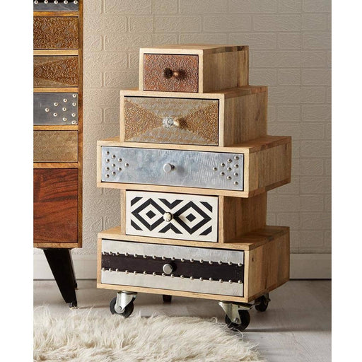 SORIO 5 DRAWER SMALL CHEST - Simply Utopia