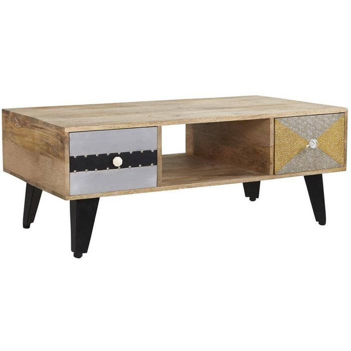 Sorio 2 Drawer Coffee Table - Simply Utopia