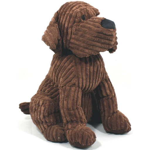 Large Chocolate Ribbed Dog Doorstop - Simply Utopia