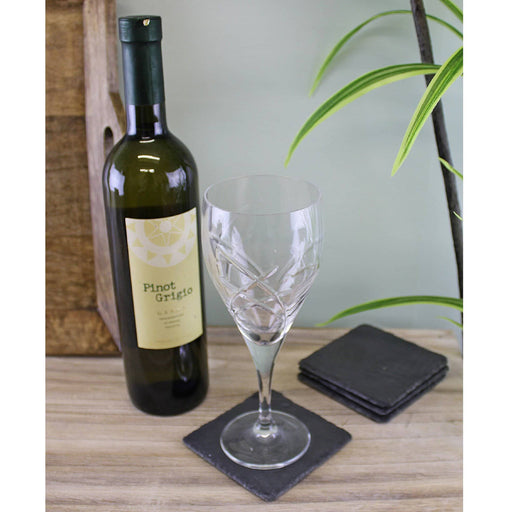 Pack Of 4 Slate Drinks Coasters - Simply Utopia