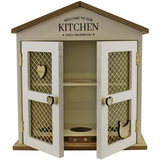 Welcome To Our Kitchen Egg House, Storage - Simply Utopia