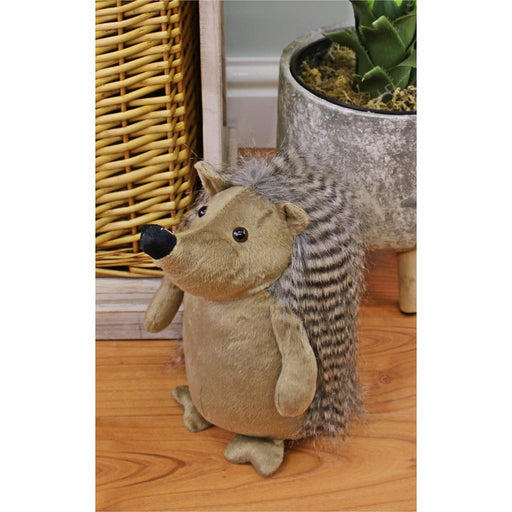 Hedgehog Doorstop with Beige Body - Simply Utopia