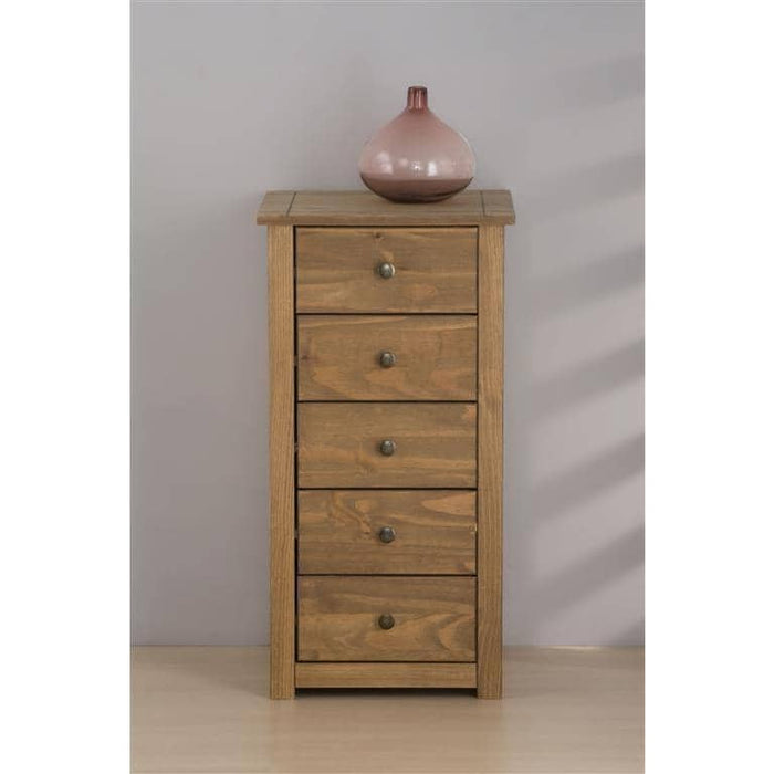 Santiago 5 Drawer Chest Pine - Simply Utopia