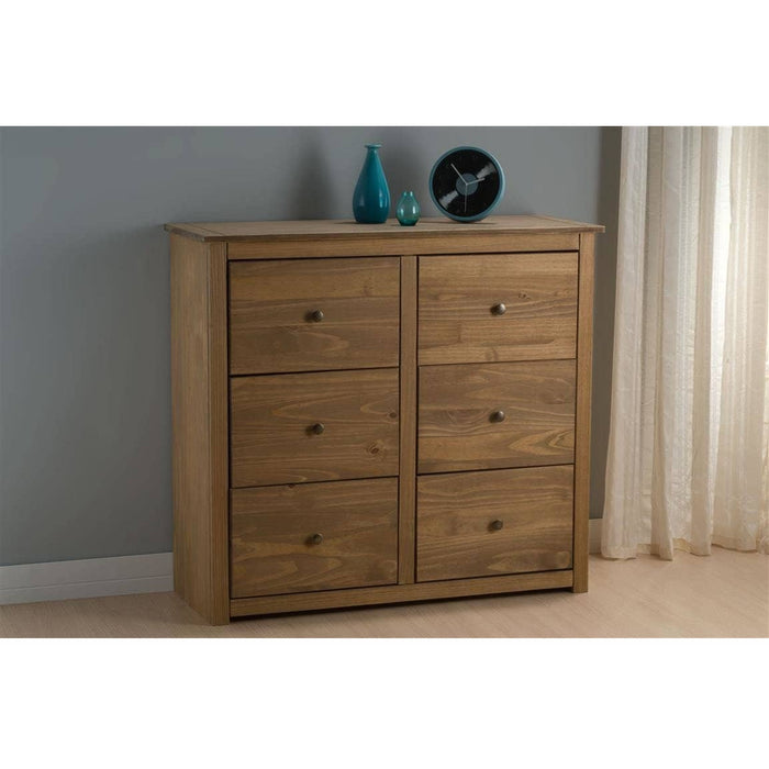 Santiago 6 Drawer Chest Pine - Simply Utopia