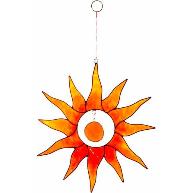 Orange Sun Suncatcher - Simply Utopia