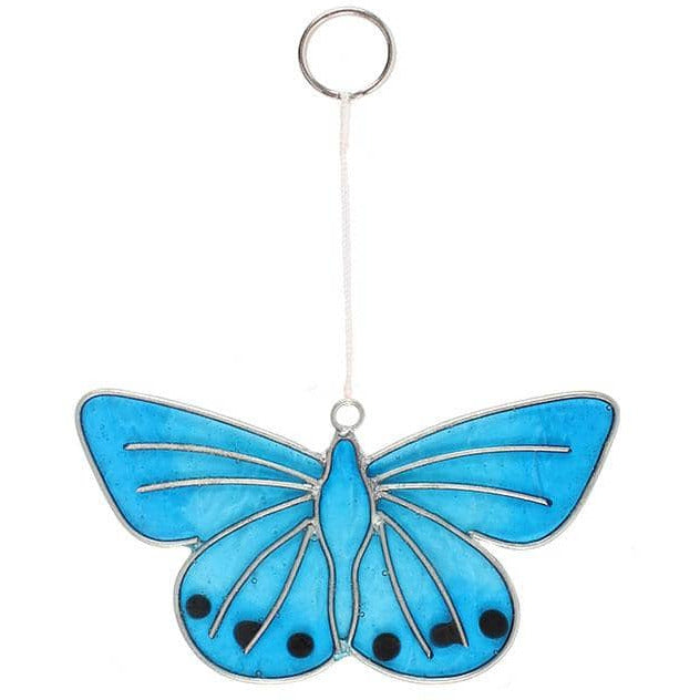 Chalkhill Blue Butterfly Suncatcher - Simply Utopia