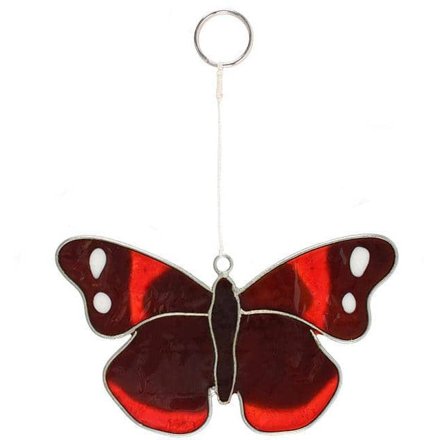 Red Admiral Butterfly Suncatcher - Simply Utopia
