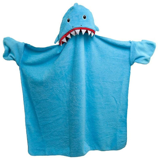 Plush Blue Shark Cafe Wearable Blanket - Simply Utopia