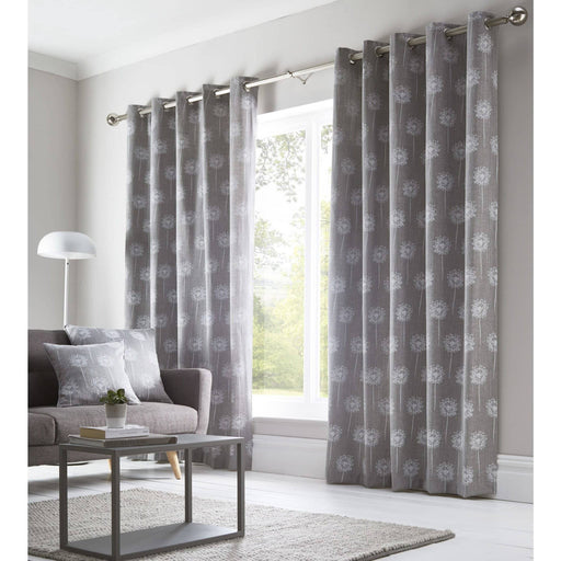 Silhouette Eyelet Curtains - Simply Utopia