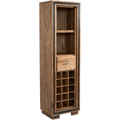 Jodhpur Sheesham Wine Bookcase - Simply Utopia