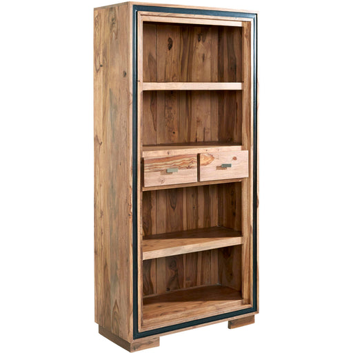 Jodhpur Sheesham Large Wide Bookcase - Simply Utopia