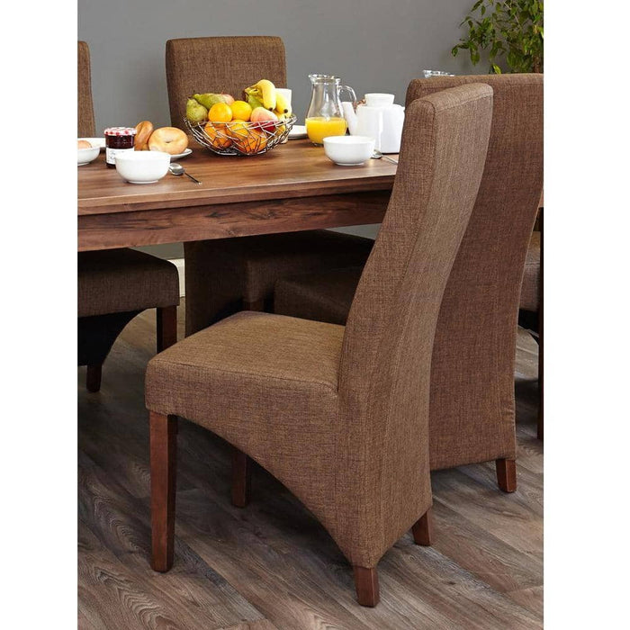 Shiro CDR04B Table with 6 x CDR03C Chairs - Simply Utopia