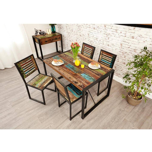 Urban Chic Small Table with 4 x Chairs - Simply Utopia