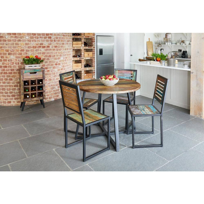Urban Chic Round Table with 2 x Chairs - Simply Utopia