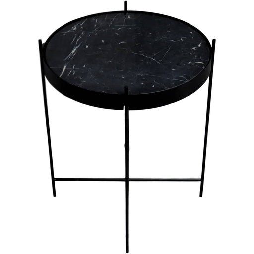 Black Marble Side Table - Simply Utopia