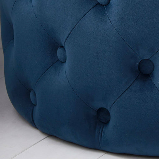 Tufted Velvet Stool - Simply Utopia